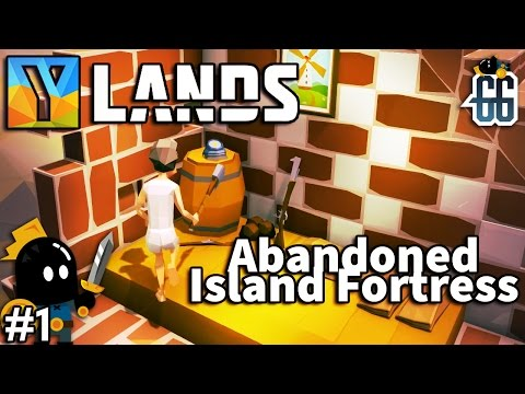 Ylands -  Found an abandoned island fortress on the first day. - EP1