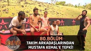 Takım arkadaşlarından Mustafa Kemal'e tepki!