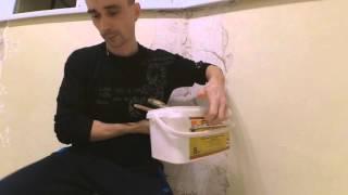 Устранение дефектов декоративной штукатурки. Как украсить стыки. Советы одесского мастера.