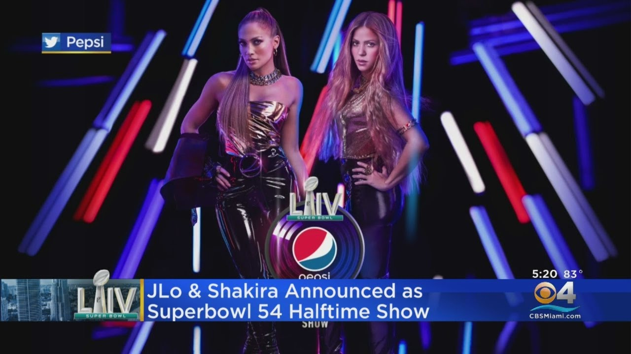 Jennifer Lopez and Shakira to headline Super Bowl halftime show