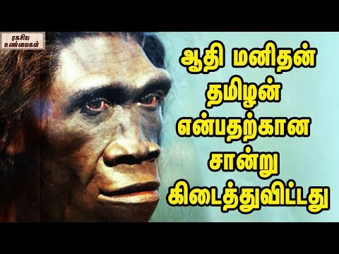Primitive Men Originated From Tamil Nadu And Here Is The Proof || Unknown Facts In Tamil