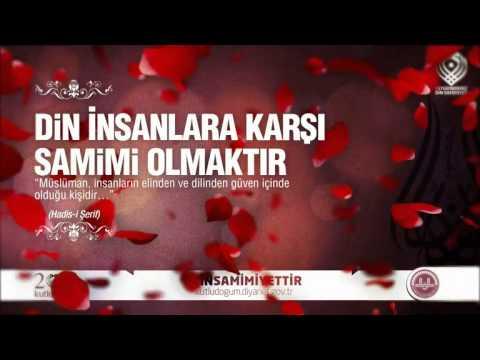 Kutludoğum Salavat-Diyanet İşleri Başkanlığı   Din Samimiyettir 3