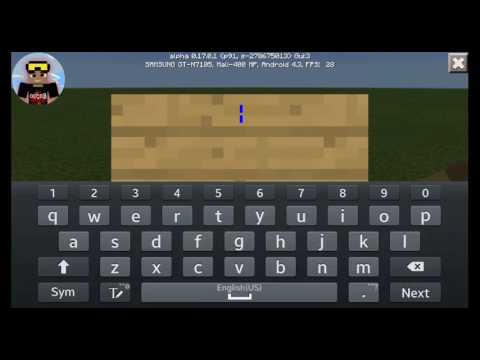 Minecraft Pe | ●How to make a moving letters on signs●