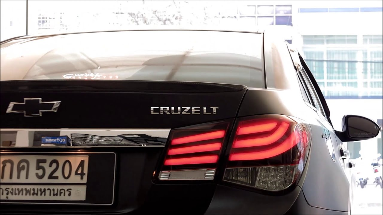 Chevrolet Cruze Tail Light Youtube