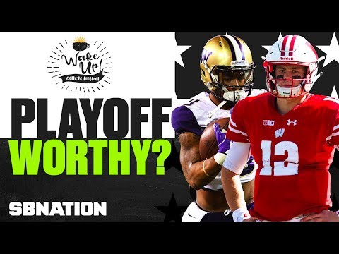 CFB Playoff Contenders On The Edge | Wake Up College Football
