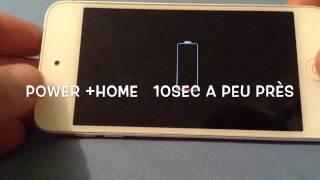 Comment rallumer son iPod/iPhone/iPad quand il n'a plus de batterie