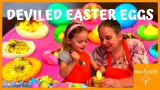 Deviled Easter Eggs | Grammy Grub | Stay To End For Funny BLOOPERS
