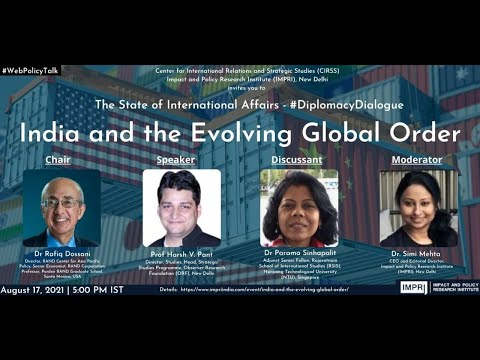 #DiplomacyDialogue | E2 | Prof Harsh V. Pant | India and the Evolving Global Order