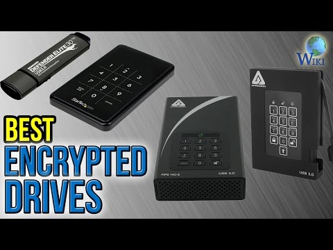 8 Best Encrypted Drives 2017