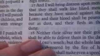 Zephaniah 1 Holy Bible (King James)