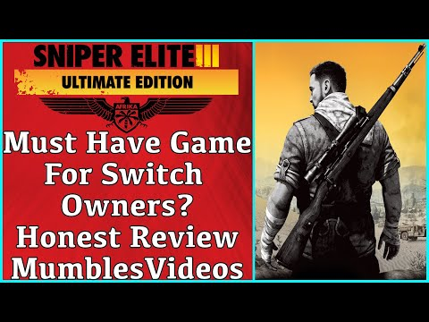 Must Have Game For Nintendo Switch Owners? - Sniper Elite 3 Review - MumblesVideos Game Review