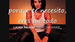 Laura Pausini without you en español