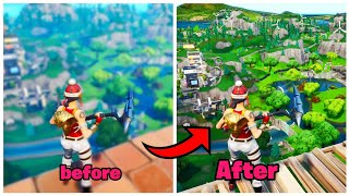 How to get PC GRAPHICS ON ANY CONSOLE (100% works) Fortnite glitches season 9