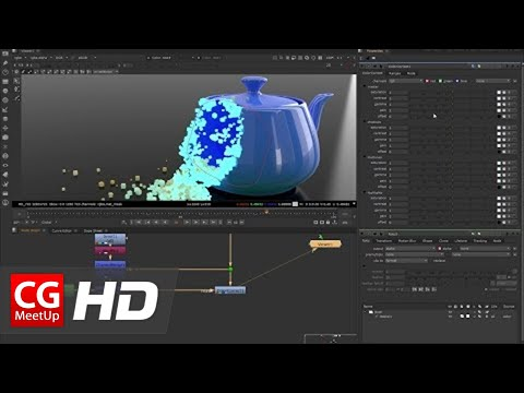 "CGI 3D Tutorial HD: ""Pixels Effect in 3ds Max"" - Part 02 Compositing in Nuke"