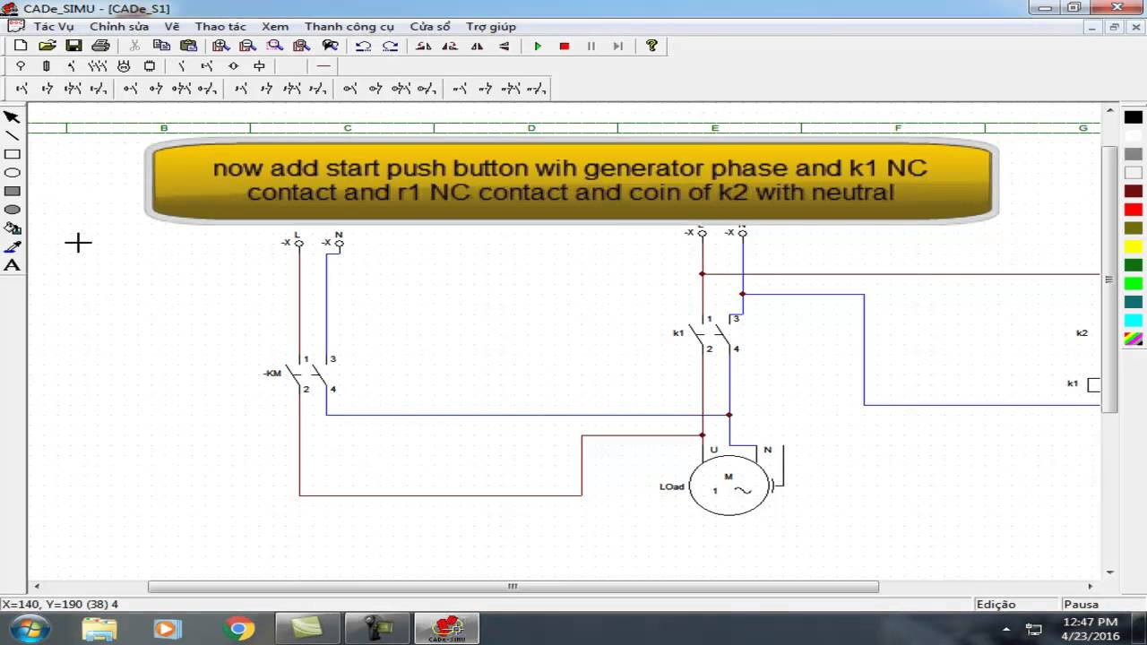 Automatic Generator Shutdown And Change Over To Kesc Wiring Youtube For A Back Up