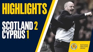 Download HIGHLIGHTS | Scotland 2-1 Cyprus Mp3 and Videos