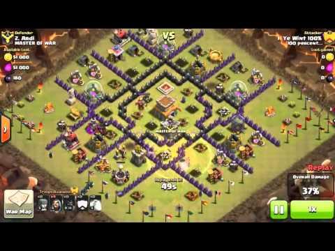 Base Coc Th 8 Anti Darat 9