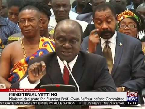 Ministerial Vetting & Strengthening Parliament - Joy News (6-2-17)