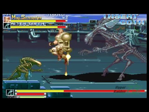 Alien VS Predator -  Final Boss and Ending