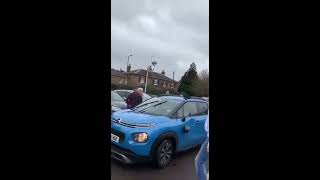 Meanwhile, in the Car Park on Christmas Eve...
