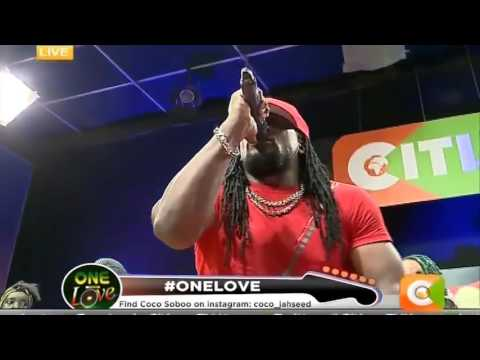 Donovan Francis performing Live on #OneLove