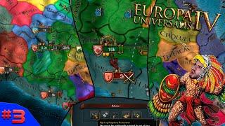 BLITZKRIEG ASTECA NÃO PARA E SEGUNDA REFORMA! - Europa Universalis 4 #3 - (Gameplay/PC/PTBR) HD