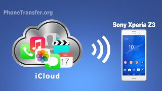 Transfer All Data from iCloud to Sony Xperia Z3, Z4, iCloud Files to Sony Z3 Compact,Z2,Z5 Compact