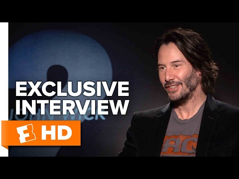 Keanu Reeves and Laurence Fishburne Exclusive