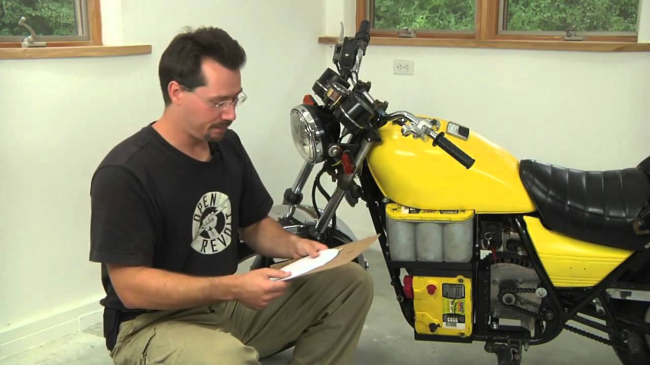 Build Your Own Electric Motorcycle Motor Plate