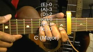 Guitar Chord Form Tutorial #146 Guitar Lesson Passenger Style Chords #2 Capo Fret 4
