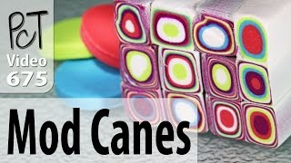 Making A Retro Mod Cane Using Your Polymer Clay Extruder