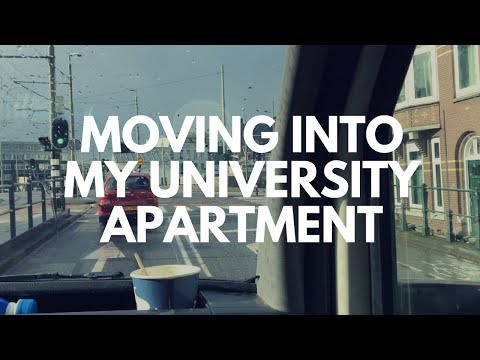 MOVING VLOG || Leiden University: The Hague