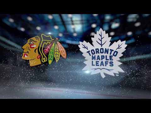 Chicago Blackhawks vs Toronto Maple Leafs - October 9, 2017 | Game Highlights | NHL 2017/18.Обзор.