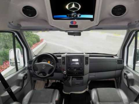 Mercedes Benz Sprinter 316 Transferline Design Modification Megabus Automotive Youtube