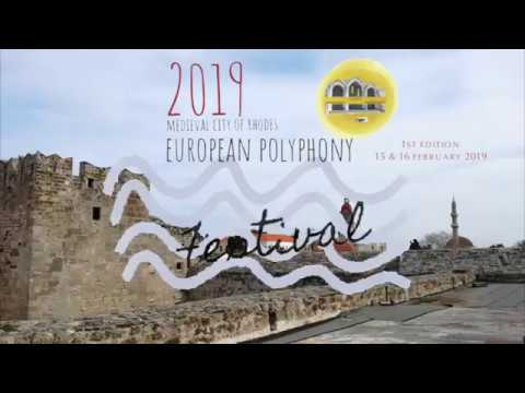 Festival European Polyphony 2019 - Medieval City of Rhodes (Aftermovie 1)