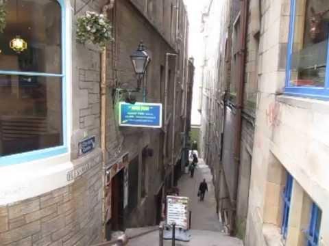 Cockburn Street, Edinburgh, Scotland - Edimburgo, Escócia