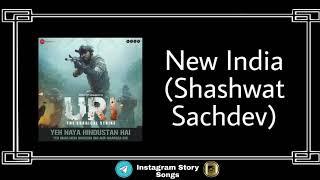 New India | Shashwat Sachdev | Rmx - Ringtone | Remix | BGM_stunner | Instagram Story Songs | Status