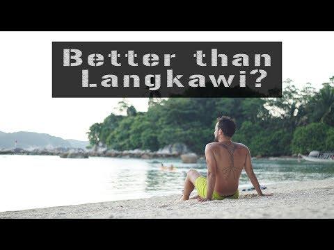 PERHENTIAN better than LANGKAWI? Malaysia 2017 - BEACH PARADISE !!