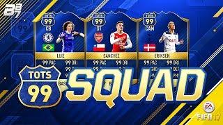 99 RATED PREMIER LEAGUE SQUAD BUILDER!! | FIFA 17 ULTIMATE TEAM