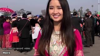 I phone 8 at Fresno Hmong  New Year 2017 - 18. 4K