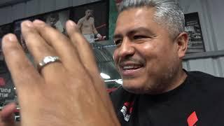 WOW Robert Garcia To Coach Josesito Lopez VIA IPAD In Kieth Thurman Fight - Daughter Has Quinceañera