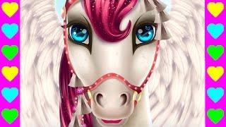 Как принцесса за лошадкой ухаживала! Детский мультфильм про животных. Интересный детский мультик.
