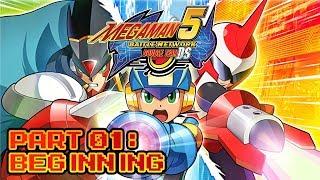 Mega Man Battle Network 5: Double Team DS - Part 01: Beginning
