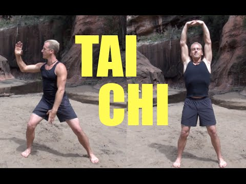 10 Minute Tai Chi Lesson - Amazing!