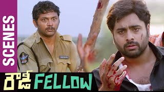 Rowdy Fellow Telugu Movie Scenes | Praveen Back...