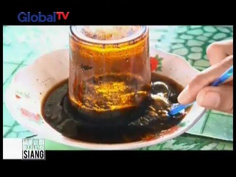 Hanya di Aceh, menikmati minum Kopi Gelas Terbalik ala Meulaboh - BIS 02/03
