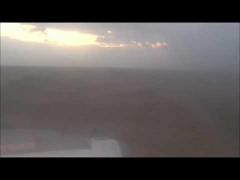 Anflug auf Borg al Arab Airport (HBE) Alexandria /  Ägypten