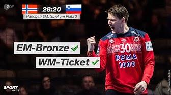 Spiel um Platz 3: Norwegen - Slowenien 28:20 - Highlights | Handball-EM 2020 - ZDF