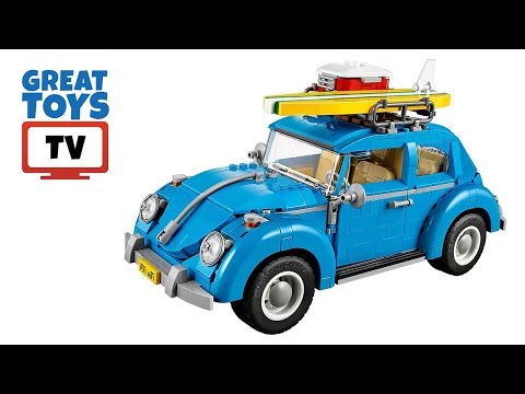 LEGO Creator Volkswagen Beetle Build Review