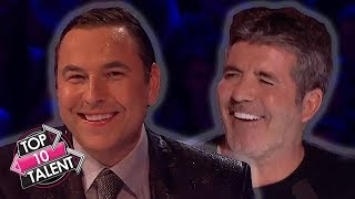 TOP 10 FUNNIEST Judge Moments On Britain's Got Talent!